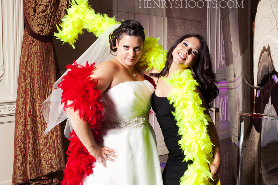 photobooth at Westmount Country Club