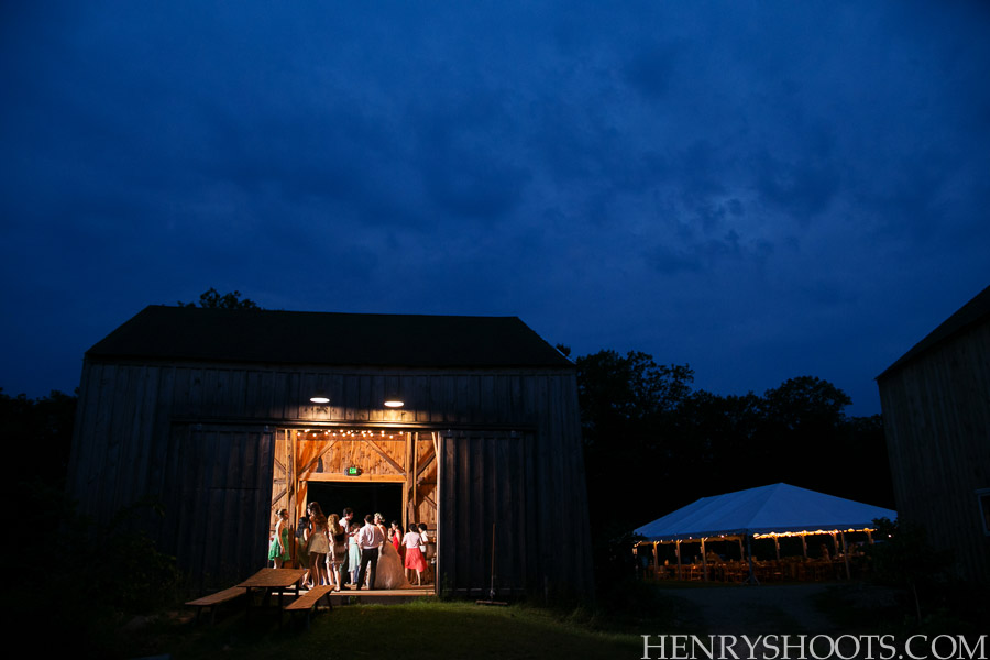 wedding at Broadturn Farm