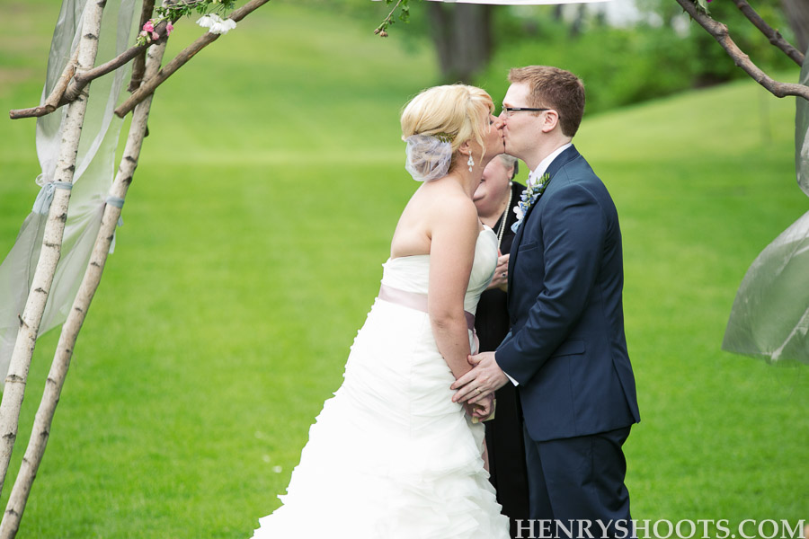 wedding at Clermont State Historic Site